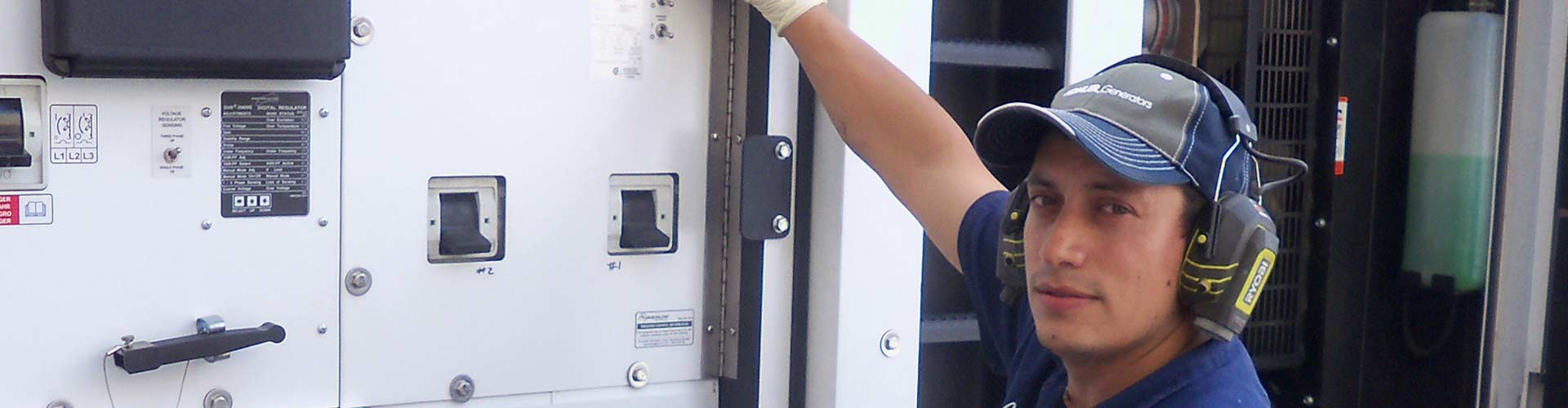 Highly Trained Factory Generator Technicians